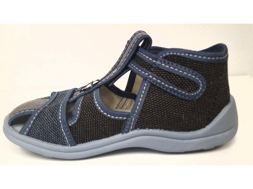 Dětské zdravotní sandálky Česká výroba ROGALLO