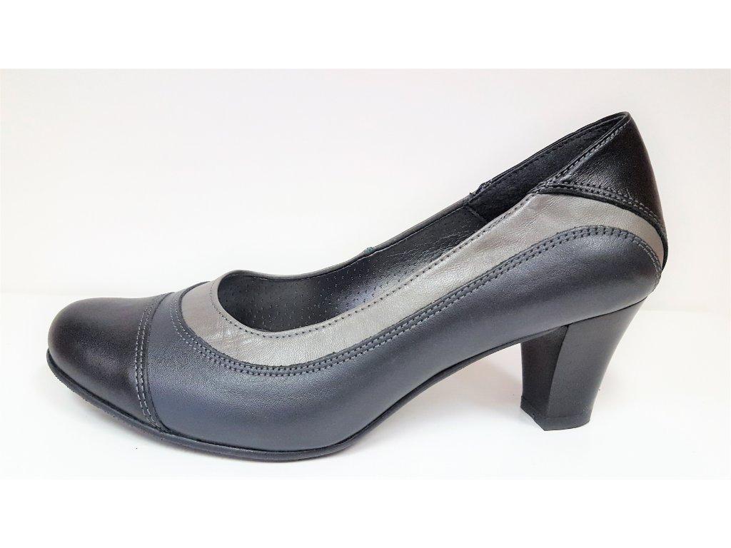 Dámská kožená elegantní obuv HUJO,Art,: EW 531