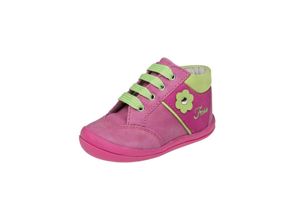 Dětská kožená celoroční obuv kotniková FARE 2121153