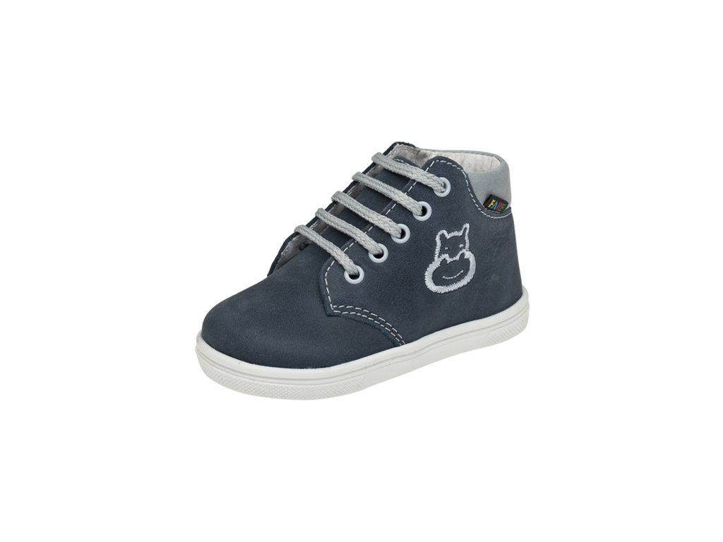 * Dětská kožená celoroční obuv kotniková FARE 2129162