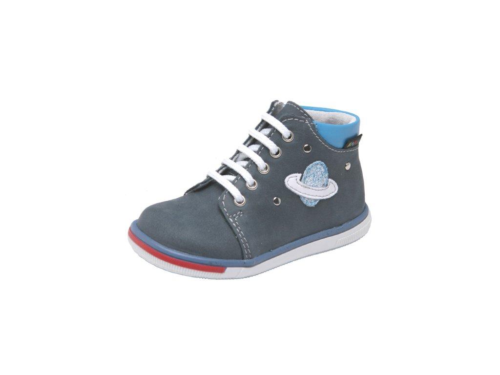Dětská kožená celoroční obuv kotniková Fare 2129105