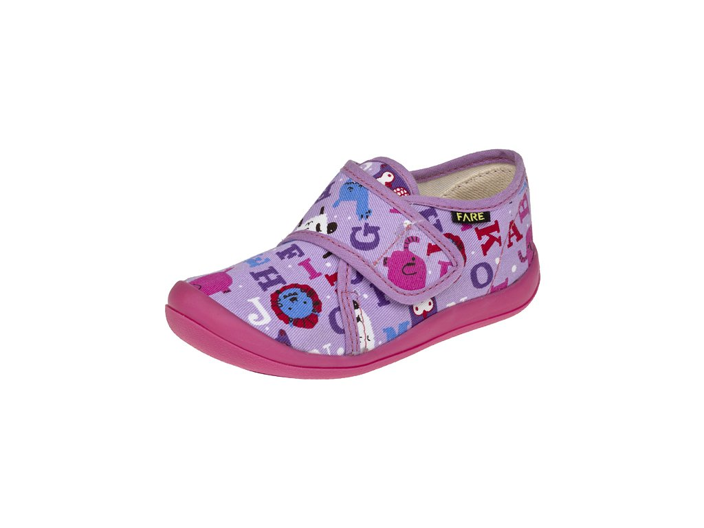 Dětské zdravotní papuče na suchý zip FARE 4115446