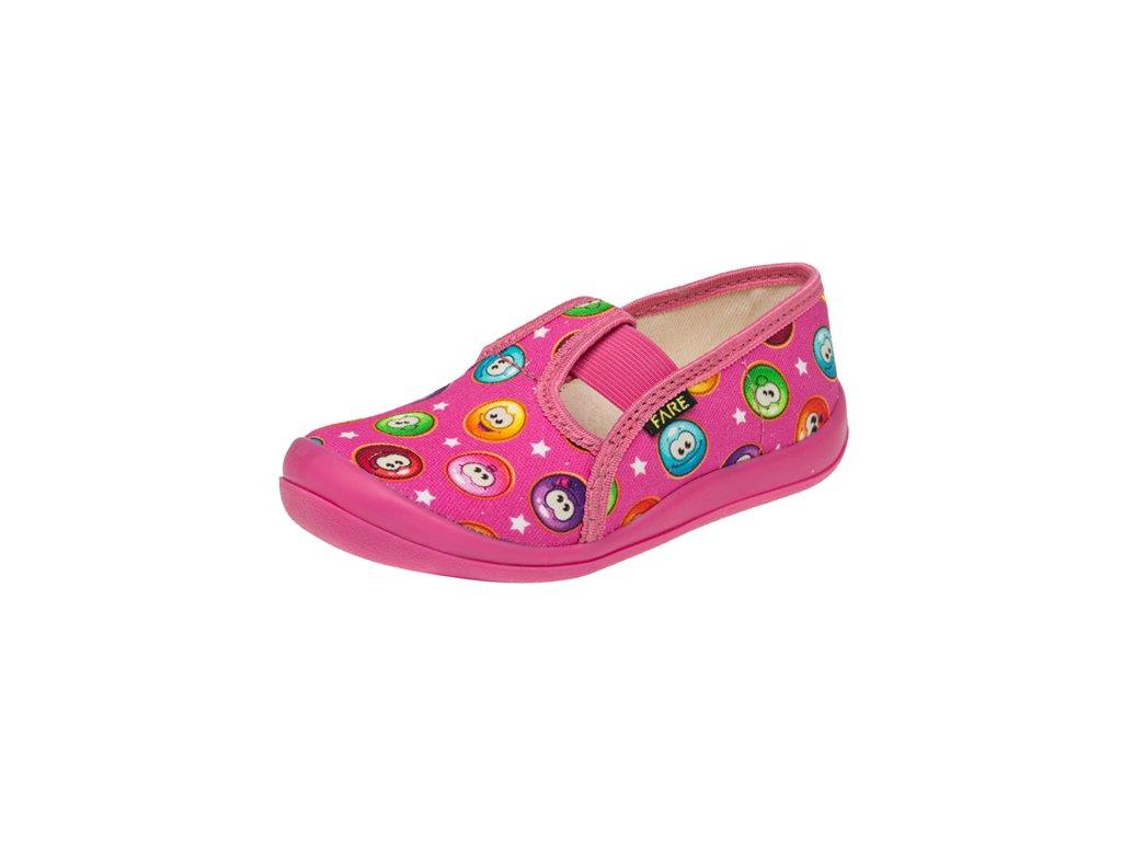 Dětské zdravotní papuče na gumičku FARE 4111447
