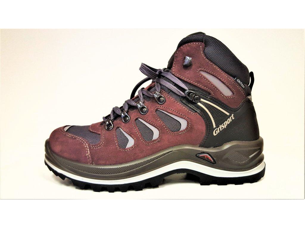 LUXUSNÍ TREKOVÁ trekingová pánská obuv -  celoroční nepromokavé trekingové pánské boty s vibram podrážkou GRI-TEX 13711