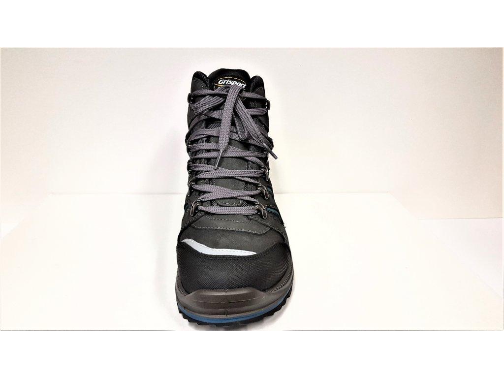 ... LUXUSNÍ TREKOVÁ trekingová pánská obuv - celoroční modré   černé   tmavě  šedé NEPROMOKAVÉ trekingové pánské ... b4e3daf997