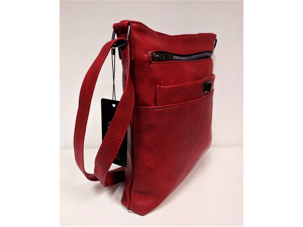 Kabelka DELAMI Luxusní kabelka dámská černá F61