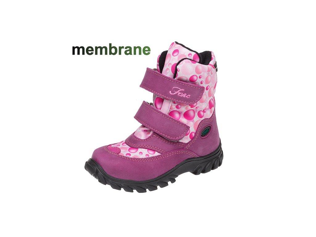 5757 detske zimni membranove boty fare 848193