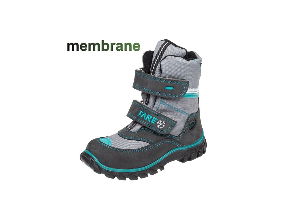 5754 detske zimni membranove boty fare 848262