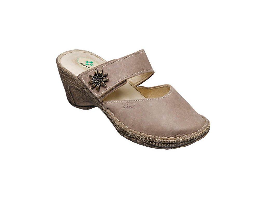 70d00788cf33e Zdravotní obuv dámská N/309/1/43 béžová - 1obuv