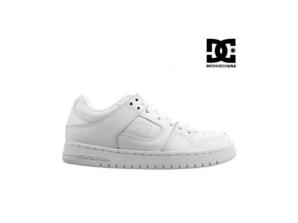 kozene bile damske skate boty dc shoes 295533 vyprodej