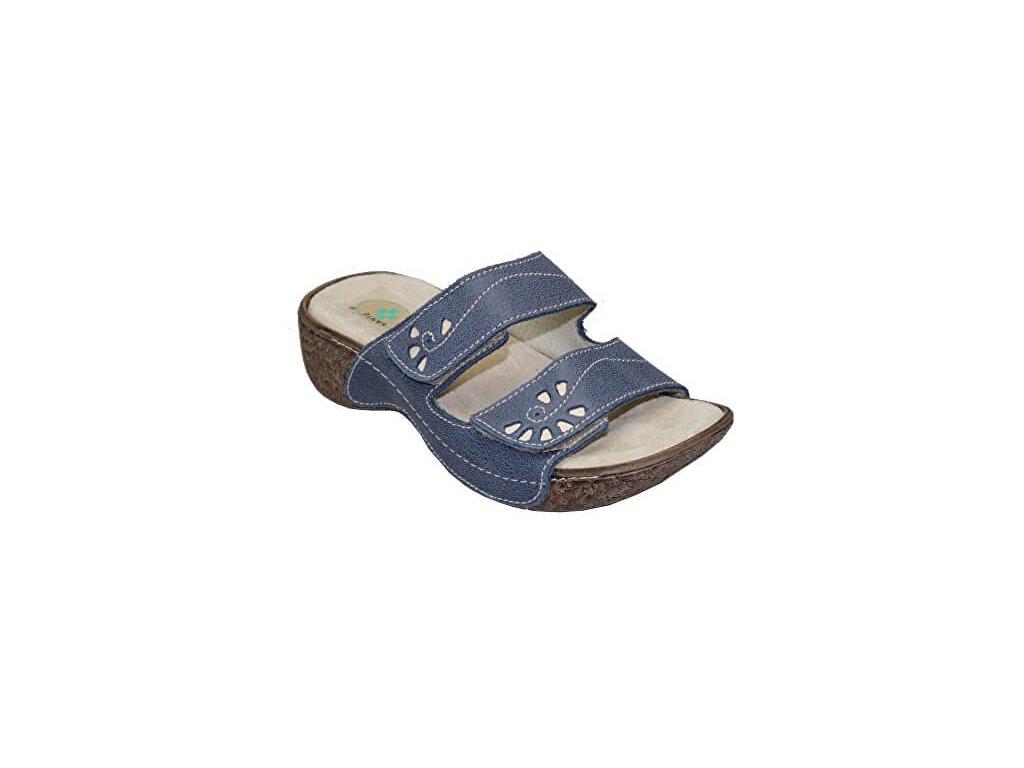 zdravotni obuv damska n 109 4 86 modra 1457097120190427224436