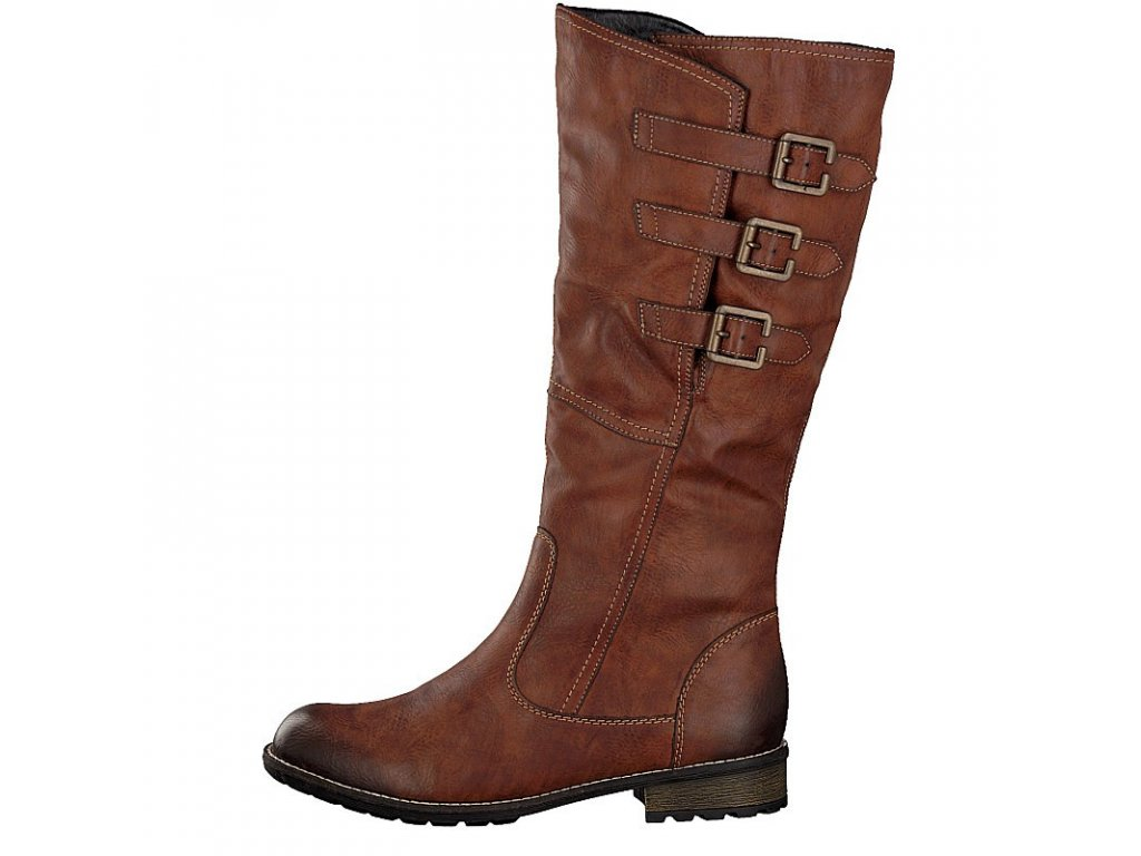 remonte by rieker women boot brown r3370 22 10 2