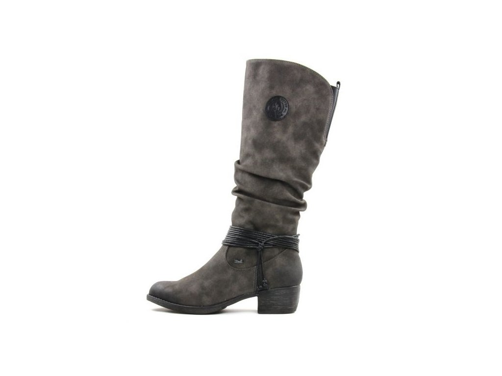 bottes gris rieker 93154 45 anthracite 5719 58392 (1)