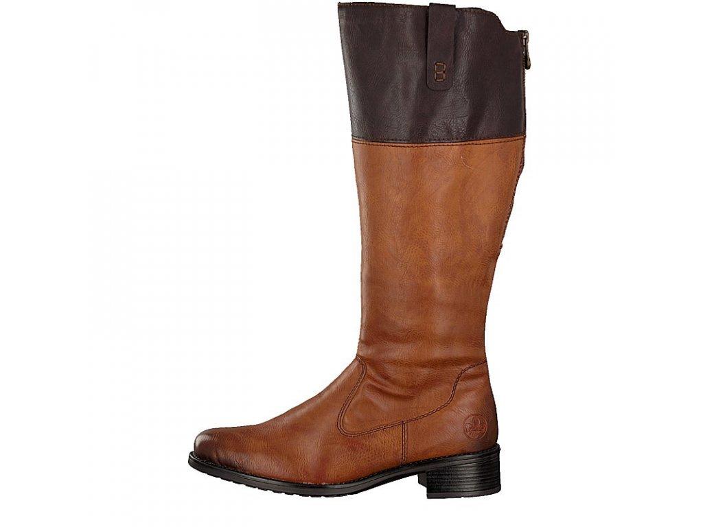 rieker women boot brown z7352 24 7 2