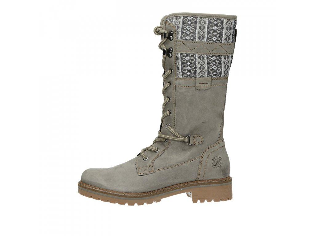 klondike damske stylove semisove cizmy sede wh022h20s grey 12501