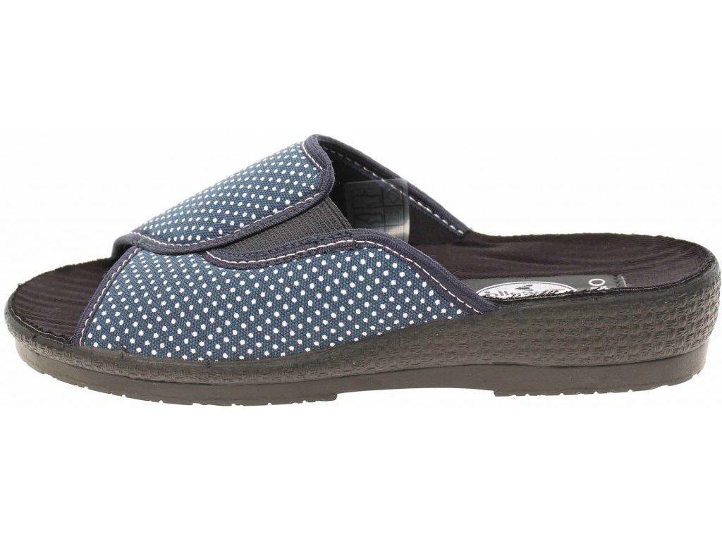 Unikátní styl Dámské pantofle ROGALLO domácí pantofle 7101019 modrá g4MfweA9