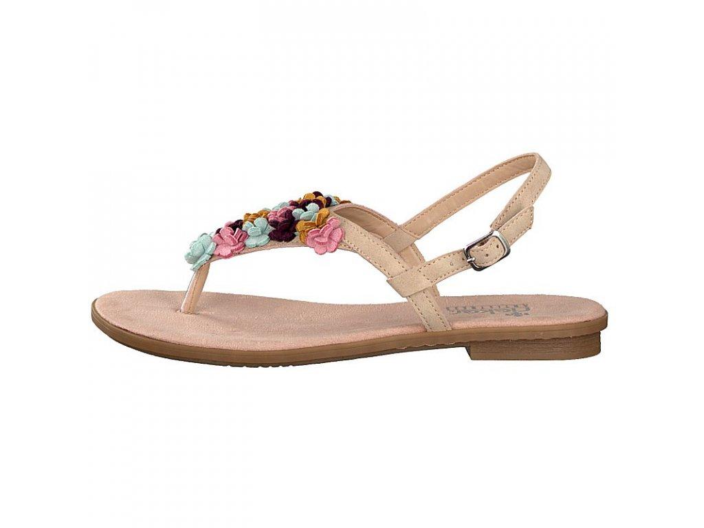 rieker damen sandale rosa 65104 31 8 2