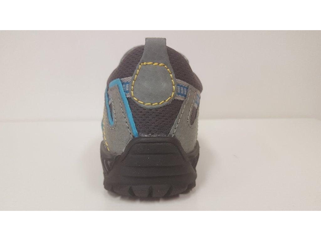 25452c124d11 Dětská zdravotní celokožená modrá obuv Sante 401 1.03 - 1obuv