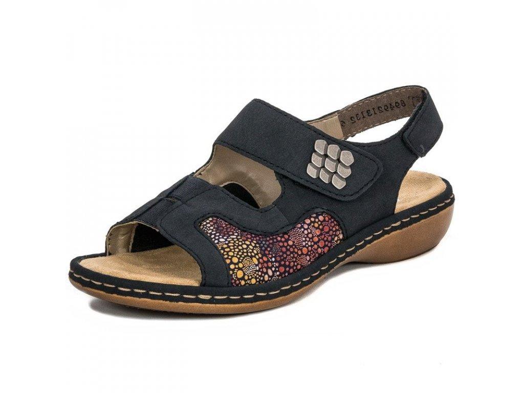eng pl Rieker 65989 14 Blue Sandals 4631 1