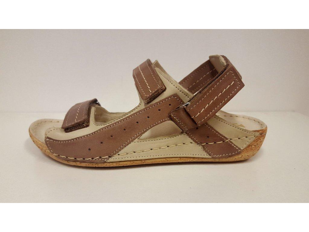Zdravotní obuv dámská GRUNA hnědá