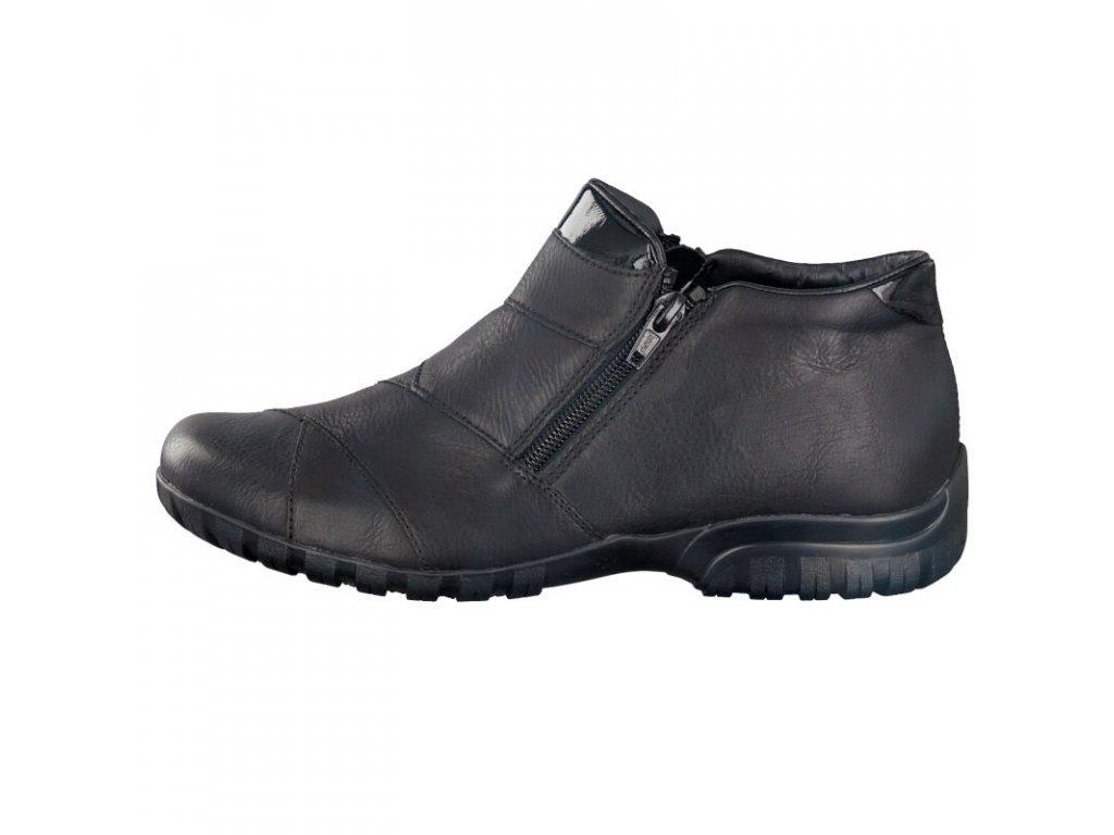 rieker damen boot schwarz l4673 01 7 2
