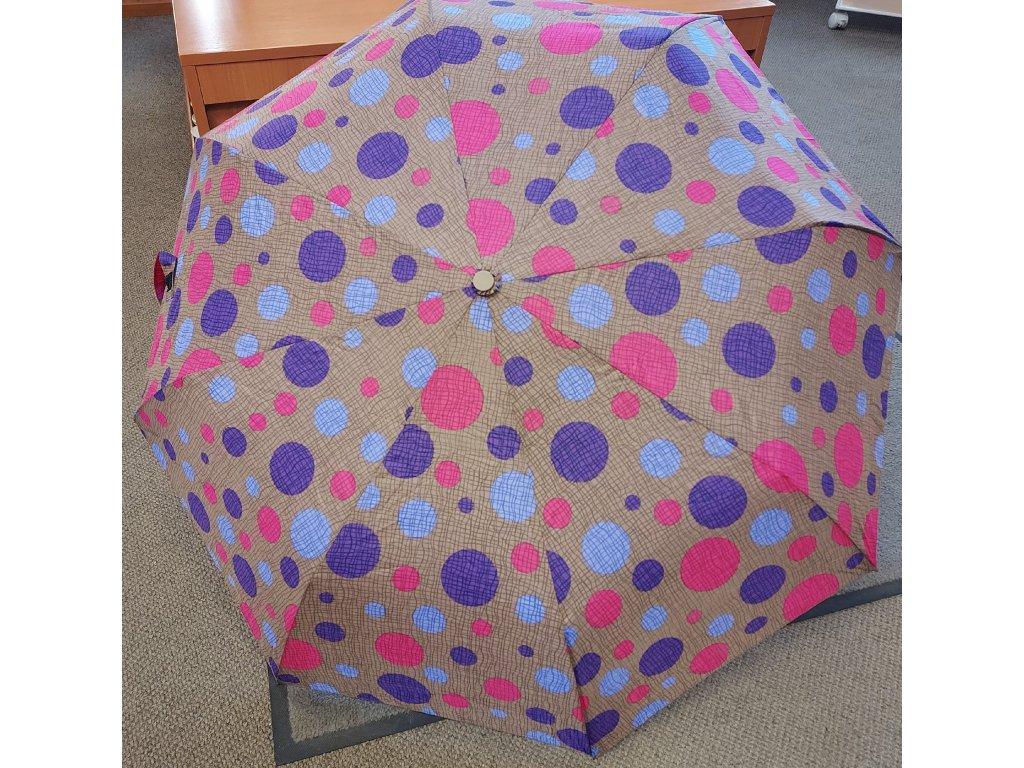 Deštník VYSTŘELOVACÍ dámský skládací