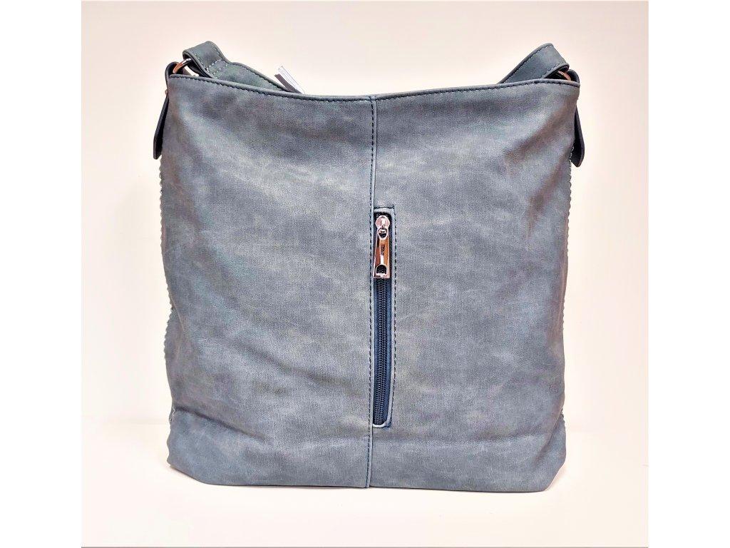 Kabelka Bella Belly Luxusní kabelka dámská modrá 3038