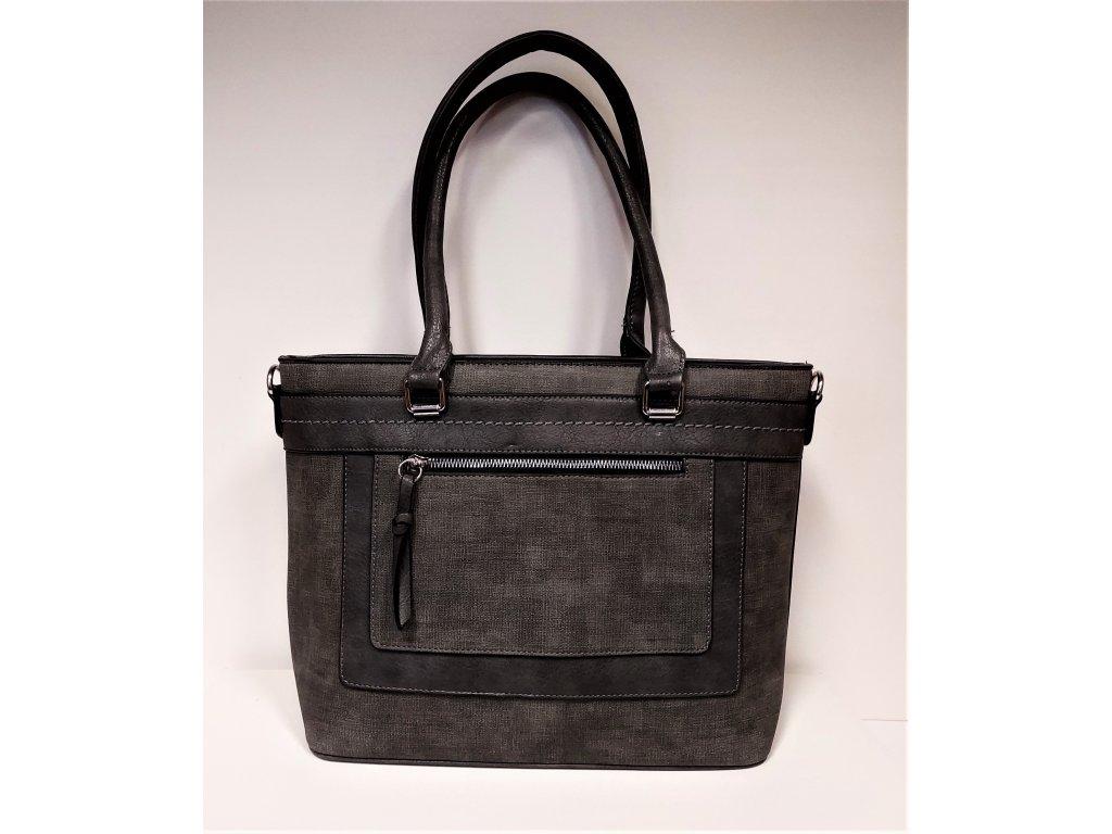 Kabelka Tapple Luxusní kabelka dámská šedá H190013