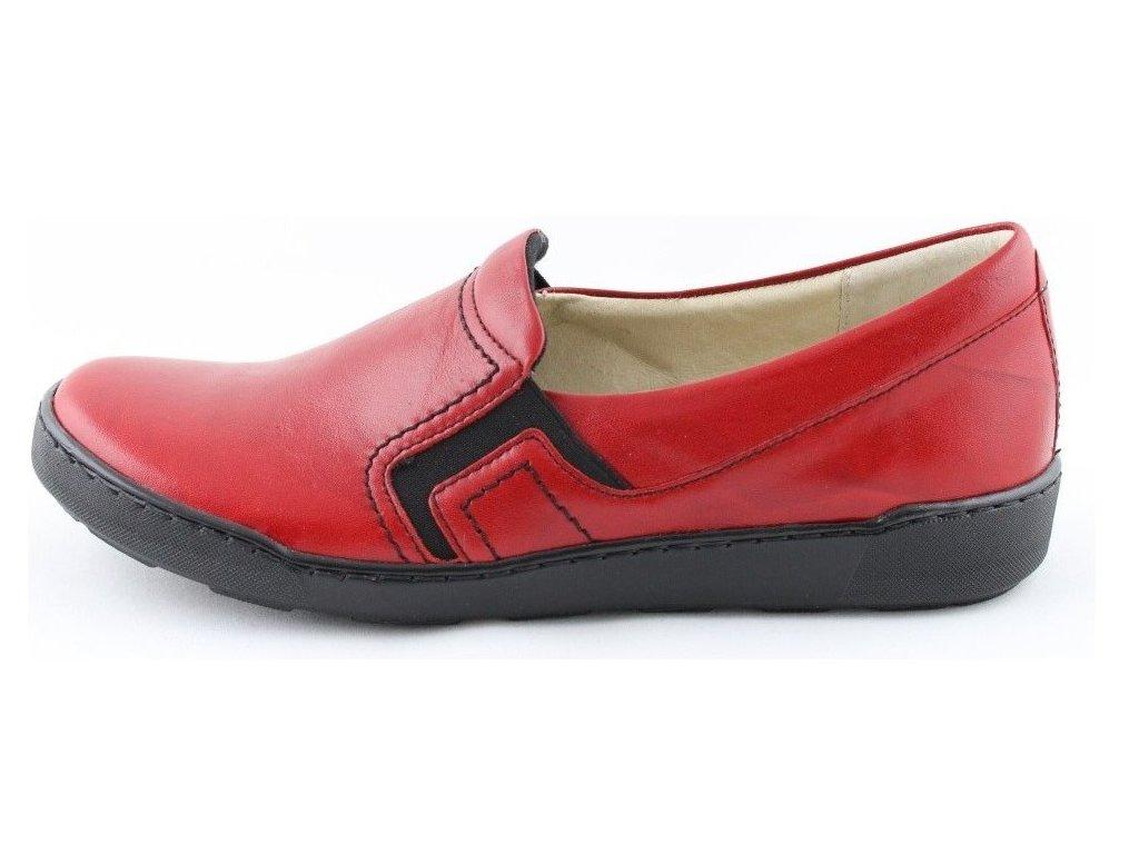 0106406 barton 3718 damske boty cervene