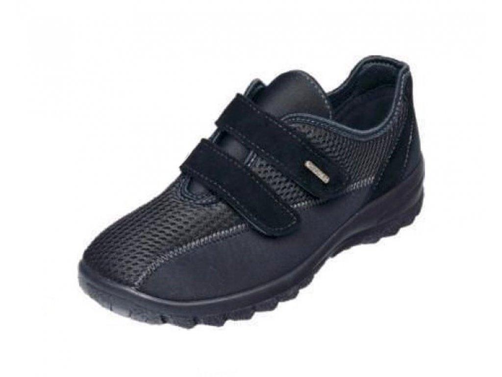 Santé MJ/004009 černá dámská zdravotní halluxová obuv