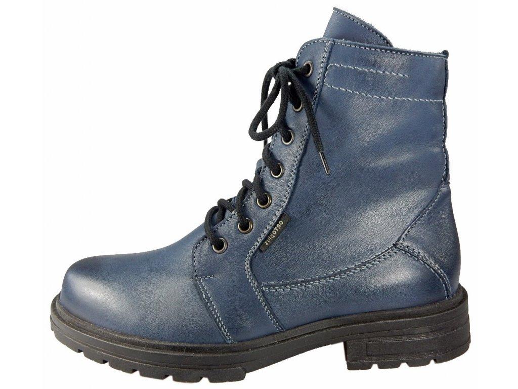 Modre zimni pohorky S 614 436