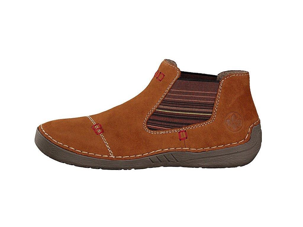 rieker damen boot braun 52590 22 7 2