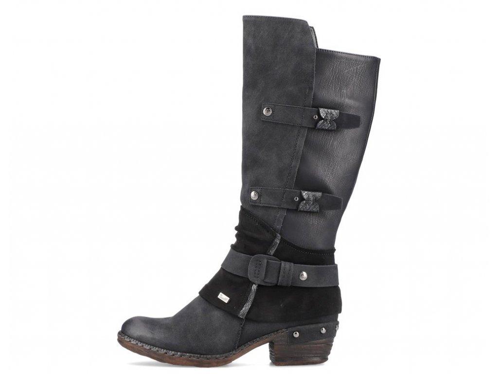 rieker 93684 00 black knee high boots 1627317395 930368430 03
