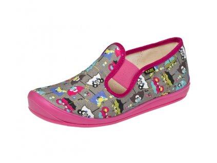 Dětské zdravotní papuče na gumičku FARE 4211446