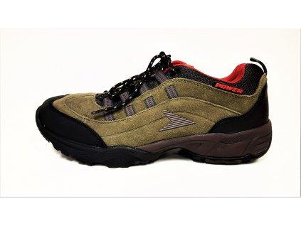 Pánská kožená vycházková zdravotní obuv PZ4-POW570M