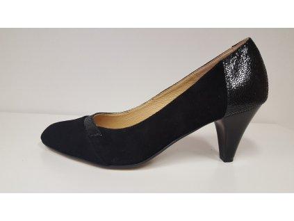 Dámská elegantní kožená obuv MINTAKA 62595/24
