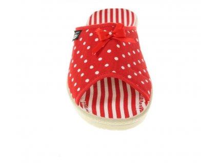 Dámská Rogallo domácí pantofle 7101 005 červené YFE1D63SS66L