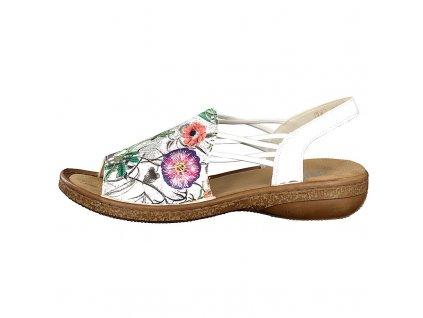rieker damen sandale multi 628d1 90 7 2