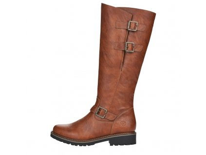 big size winter boots with natural fur for women remonte r6590 22