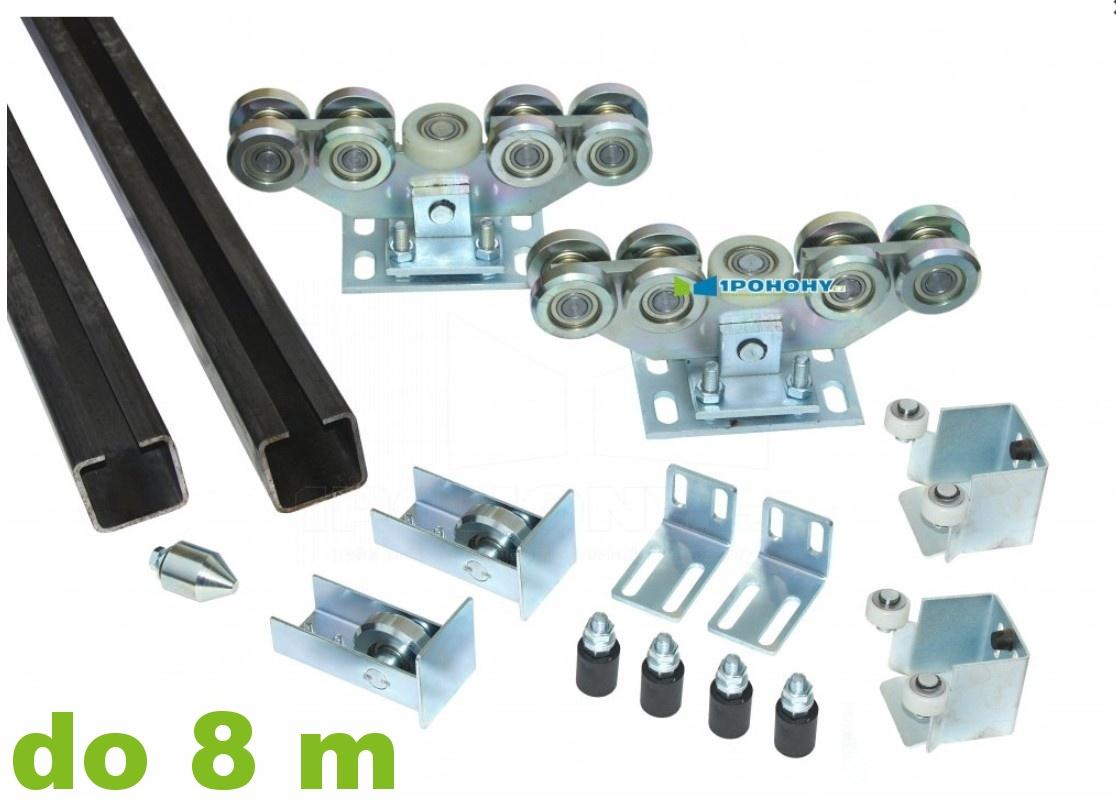 Sady komponentů pro výrobu samonosné brány s průjezdní šířkou až 8,00 m