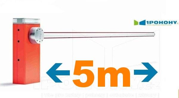 Závory Nice do 5 m průjezdu, parkovací závory Nice s rameny 5 m