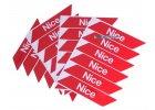 příslušenství pro závory Nice, ramena, ráhna, podpěry, záložní zdroje, ovládání, náhradní díly