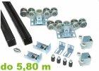 Sady komponentů samonosné posuvné brány do 5.80 m šířky průjezdu