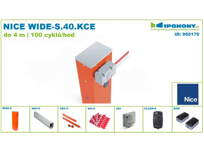 950170 NICE WIDE S 40 KCE 010