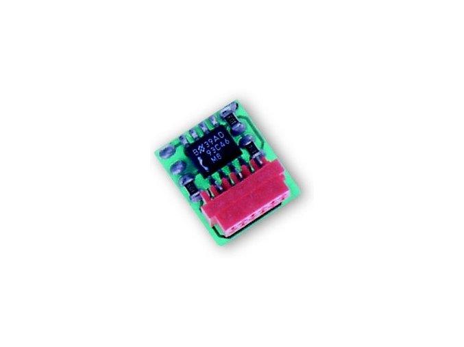 Nice BM1000 paměťová karta přijímače Nice pro 255 ovládačů