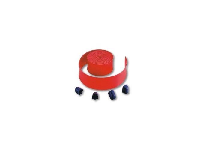 Nice WA6 krycí červená lišta ráhen závor Nice