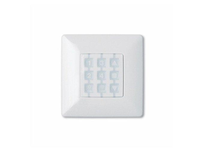 Nice WSW čtvercový rámeček nástěnného ovladače rolet NiceWay, bílý