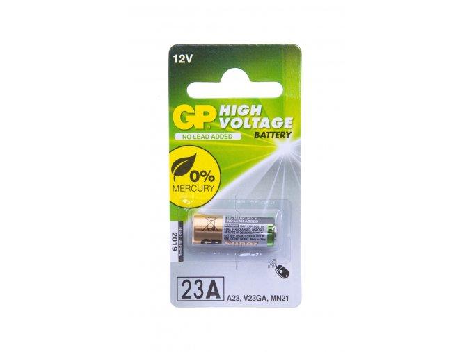 GP 23AE alkalická baterie 12 V,baterie do dálkových ovladačů vrat a bran