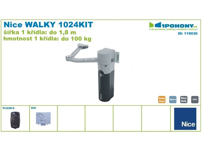 119030 Nice WALKY 1024 KIT 010