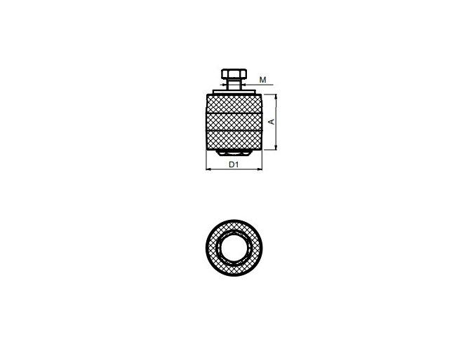 kladka horní vodící CS.ROB36